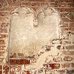 Moot Hall, Maldon Conservation of early brick fireplace